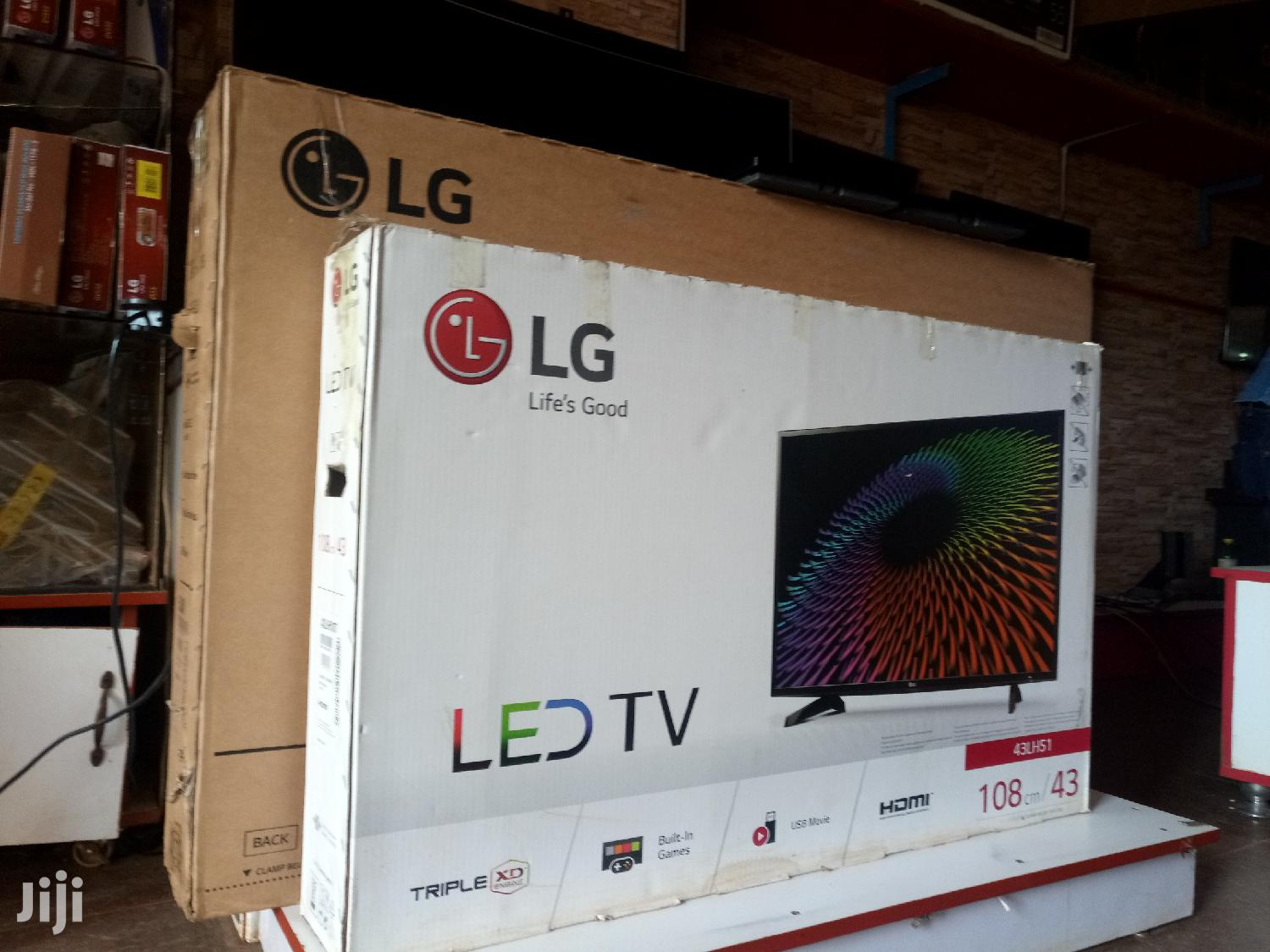 Archive: LG LED Digital Satellite Webos Flat Screen TV 43 Inches