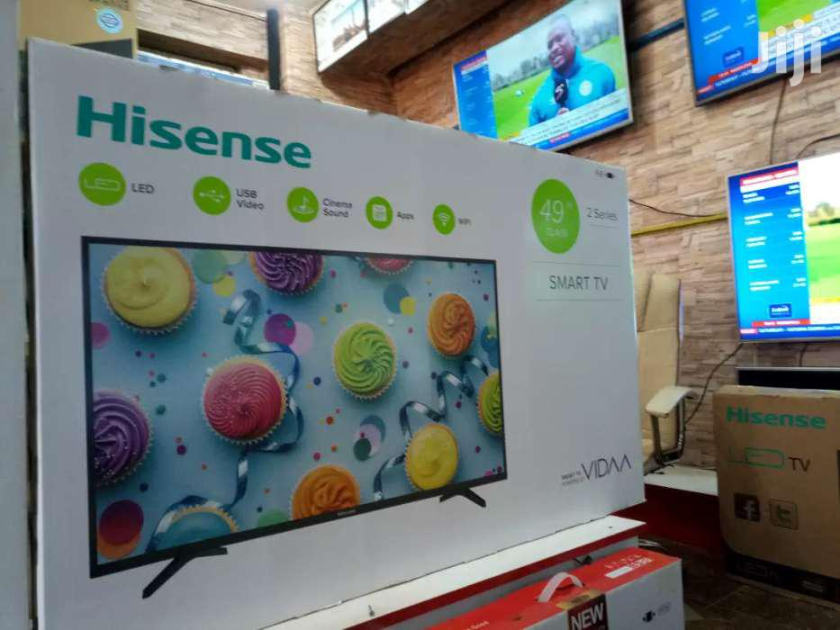 Archive: NEW HISENSE 49 INCHES SMART DIGITAL ANDROID FLAT SCREEN TV