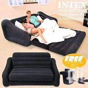 2 In 1 Intex Inflatable Pull Out Sofa /Bed | Furniture for sale in Central Region, Kampala