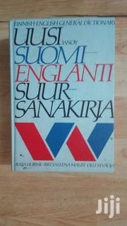 Finnish English General Dictionary | Books & Games for sale in Central Region, Kampala