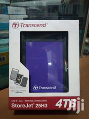 Transcend External Hard Drive 4TB | Computer Hardware for sale in Central Region, Kampala