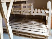 Pallet Desing Decker Kids Bed And Adults ,Kids Table And More   Children's Furniture for sale in Central Region, Kampala