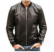 Leather Bomber Jacket | Clothing for sale in Central Region, Kampala