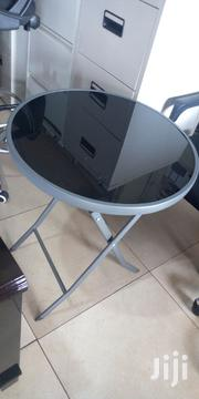 Round Foldable Glass Table | Furniture for sale in Central Region, Kampala