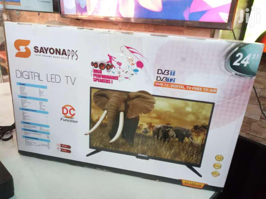Brand New Sayona Digital Led Tv 24 Inches