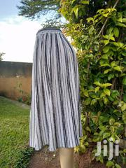 Black and White Striped Wide Legged Pants | Clothing for sale in Central Region, Kampala