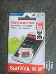 16gb Memory Card Sandisk | Accessories for Mobile Phones & Tablets for sale in Central Region, Kampala