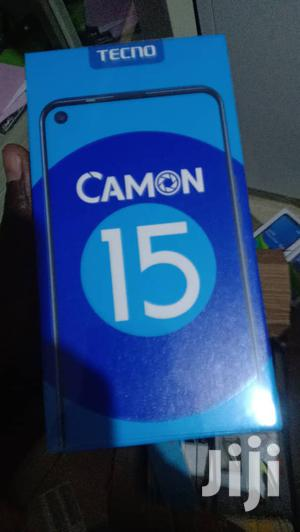 New Tecno Camon 15 64 GB Black