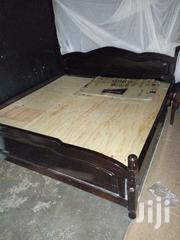 Mahogany Bed And Matress | Furniture for sale in Central Region, Mukono