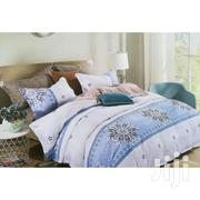 Duvet Set With 1 Bed Sheet 2 Pillow Cases - White,Blue | Home Accessories for sale in Central Region, Kampala