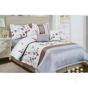 Duvet Set With 1 Bed Sheet 2 Pillow Cases - White,Silver,Blue | Home Accessories for sale in Central Region, Kampala