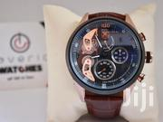 Brown Leather Strap Tag Heuer Watch | Watches for sale in Central Region, Kampala