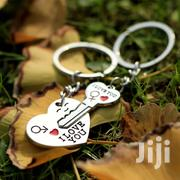 Trendy Couple I LOVE YOU Heart Keychain Ring Souvenirs | Jewelry for sale in Central Region, Kampala