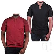 2 Pack Of Polo T-shirt Maroon And Black | Clothing for sale in Central Region, Kampala